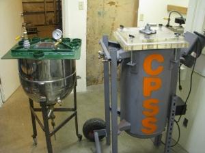 mixing vats