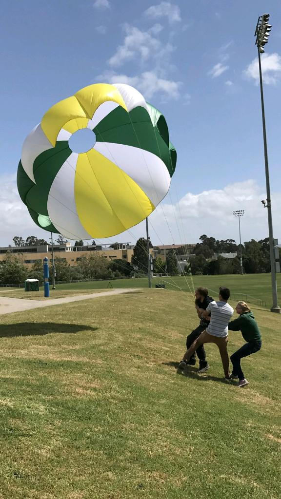 Parachute Testing on the Field